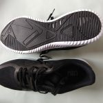 Crew STREET Men Black Running Shoes