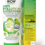 WOW anti pollution sunscreen lotion