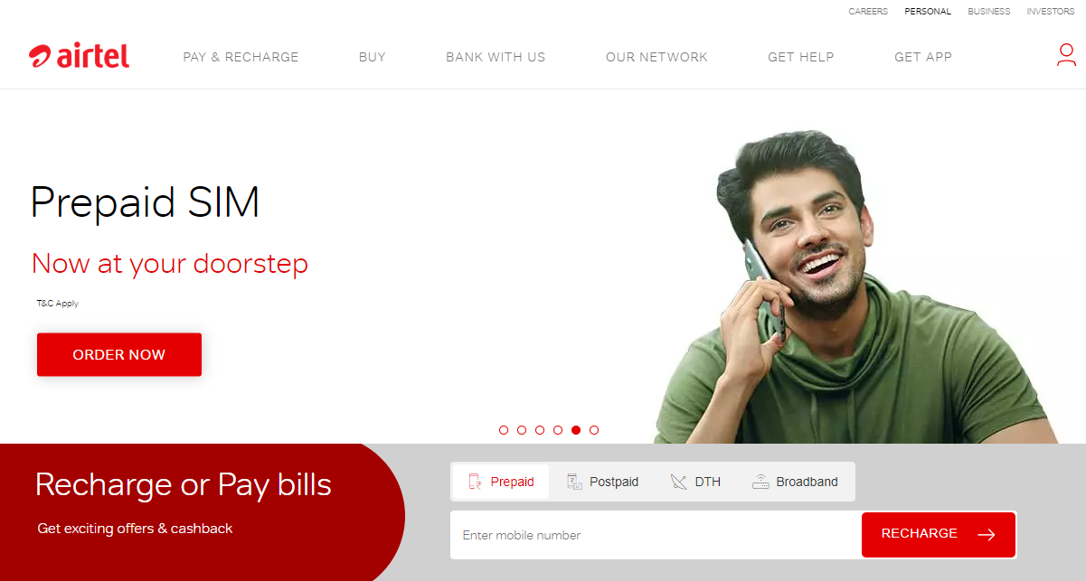 Long Term Pre-Paid Plan For Airtel Users