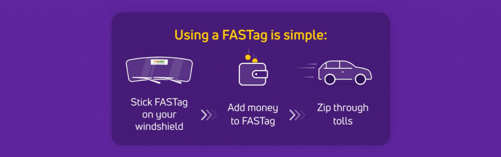 Using FasTag